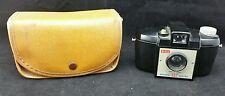 Vintage Art Deco Kodak Brownie 127 Box Camera With Vinyl Case