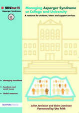 Managing Asperger Syndrome at College and University-ExLibrary