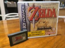 The Legend Of Zelda: A Link To The Past Four Swords Case Inlay Gameboy Advance