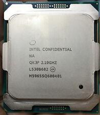 Intel Xeon E5-2620 v4 ES QK3F 2.1GHz 8C/16T 85W CPU Processor  E5-2620 v4 QK3F