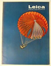 1963 LEICA MAGAZINE SMOKE JUMPER PARACHUTE FOREST FIRE CAVE JUNCTION OREGON USA