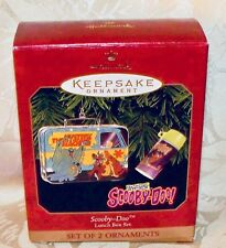 Scooby Doo Lunch Box Set Hallmark Keepsake Ornaments 1999