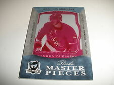 2007 07 -08  THE CUP BRANDON DUBINSKY ROOKIE PLATE MASTERPIECE 1/1