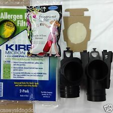 2 F Style Vacuum Bag 1 Belt & Scent for Kirby Sentria G10 G10D Vacuum MPN 205808