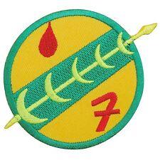 Star Wars Boba Fett Mandalorian Badge Logo Sew Embroidered Iron on Patches #1393