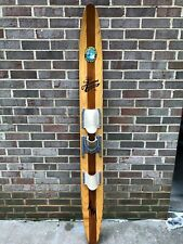 Vintage Wooden Cypress Gardens Alfredo Mendoza 69 Slalom Water Ski World Champ