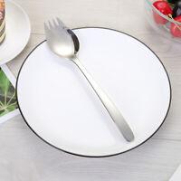 1PC Stainless Steel Sporks Sleek Creative Smooth Cream Spoon for Dessert Kitchen