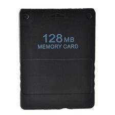 128MB MEMORY CARD SPEICHERKARTE 128 MB PLAYSTATION 2 PS2 SLIM KARTENLESER Z36