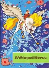 A WINGED HORSE Illustrated Fairy Tale by KIM IL SUNG from North Korea DPRK