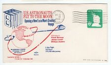 USA 1968 APOLLO 8 SPACE MISSION TO MOON STATIONERY CANAVERAL