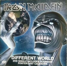 IRON MAIDEN Different Worlds 3 TRACK DVD + POSTER  NEW - NOT SEALED
