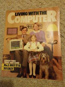 1984 JANUARY - LIVING WITH THE COMPUTER -RARE Magazine