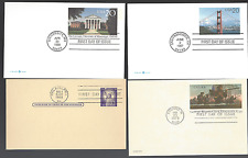 8 FDC US Postal Cards,  106