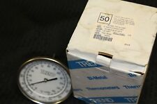 """New TREND BIMETAL THERMOMETER 50040A008G4 5"""" BACK CONNECTED MODEL 50"""