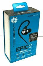 JLab Audio Epic2 Bluetooth 4.0 Wireless Sport Earbuds - Black