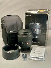 Sony G Master-Series 85mm F/1.4 GM FE Lens Excellent Condition