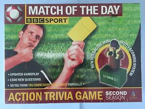 Toy Brokers BBC Sport Match of the Day Second Season New And Sealed