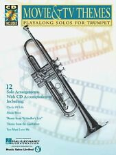 MOVIE & TV THEMES Playalong Solos for Trumpet w/CD