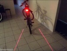 Unbranded Flashing Bicycle Lights & Reflectors