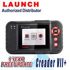 Launch Creader VII+ OBD2 diagnostic Scan tool Transmission ABS Airbag SRS Engine