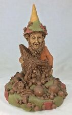 Tom Clark Gnome Plenty with Cornucopia #33 Edition #88 Cairn Studio Coa 8.25""