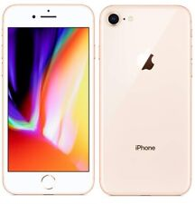 "Apple iPhone 8 4G 4.7"" Smartphone 64GB iOS 11 Unlocked Sim-Free - Gold A"