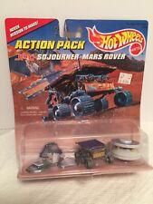 1996 Hot Wheels Action Pack JPL Sojourner Mars Rover Lander and Pathfinder..NASA