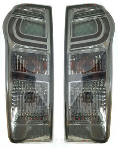 *NEW* ALTEZZA TAIL LIGHT LAMP (SMOKE LED) for ISUZU D-MAX DMAX 2012 - 2019 PAIR