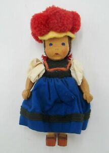 Vintage So Cute Lotte Sievers Hahn Black Forest Costume Doll