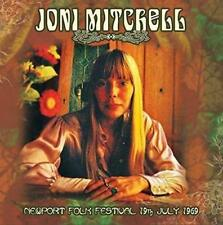 JONI MITCHELL - LIVE AT NEWPORT FOLK FESTIVAL 19th July 1969 (New & Sealed) CD