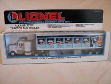 1992 Lionel 6-12811 Alka-Seltzer Tractor & Trailer