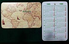 CALENDARIO Rolex Vintage 1985 1986 16660 16550 16520 6263 16610 1665 1655 16750