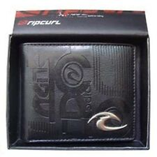 New with Box Rip Curl Men's Surf PU Leather Wallet Christmas Gift #101