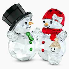 New Swarovski Crystal 5533948 Snowman Family 2020 Figurine