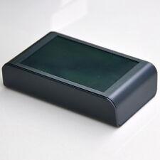 Desktop Instrumentation Project Enclosure Box Case, Full Black, ABS, -S-.