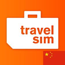 TravelSim Welt Prepaid Sim Karte für die Reise nach China mit 5 GB Daten