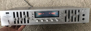 Vintage SANSUI RG-7 STEREO GRAPHIC EQUALIZER CONSOLETTE ( Made in JAPAN)