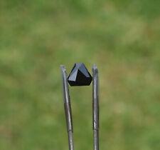 Black Spinel - 'Lucifer' - precision cut in the U.K.