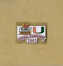 NCAA FIESTA BOWL CLASSIC 2003 COLLEGE FOOTBALL FINAL TEMPE, AZ OFFICIAL PIN OLD