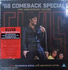 ELVIS PRESLEY '68 Comeback Special 50th Anniversary BOX SET 5 x CD + 2 x BLURAY