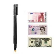 Nice Money Checker Counterfeit Detector Marker Fake Banknotes Tester Pen Black