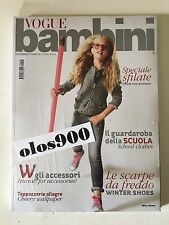 VOGUE BAMBINI Sept/Oct 2011 International Children's Fashion Italy NEW & SEALED