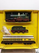Early Tri-ang OO Dean Class Lord of the Isles Loco & Coach Rare set boxed SMOKE