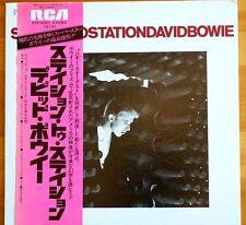 David Bowie Station to Station RVP6027 Japan Import LP OBI 6Track MINT Mega Rare