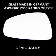 Audi A1 Wing Mirror Glass,Silver,LH (Passenger Side),05-2010 to 2014