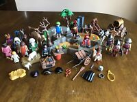 Playmobil Lot (Pirates, Complete Nativity, Medieval, FD, Indigenous)
