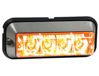 "Buyers Products 8891004 Amber Raised 5"" LED Strobe Light"