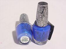 OPI NAIL LACQUER POLISH BLUE SHATTER NL E56 .5 FL OZ 15 ML #D405