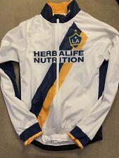 Men's Jakroo LA Los Angeles Galaxy Herbalife Cycling Bike Jacket Medium M