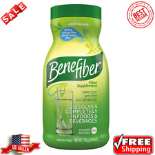 Benefiber Fiber Supplement (190 servings) Non Thickening Sugar And Taste Free